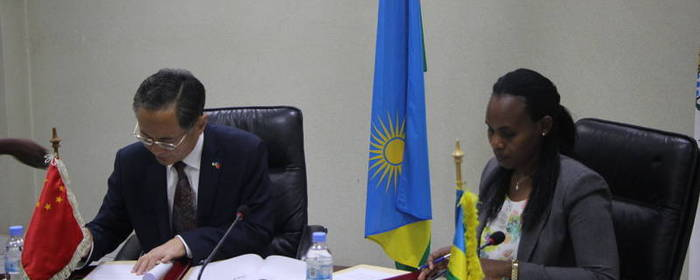 Government of Rwanda and China sign US$ 42.8 million grant support